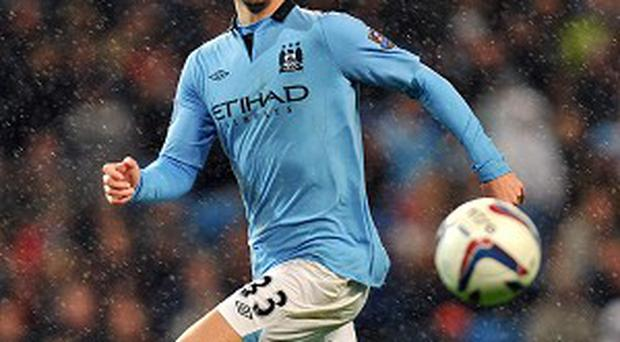 Matija Nastasic is waiting to hear how bad his ankle injury is