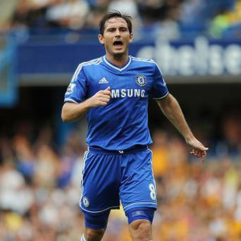 Frank Lampard scored Chelsea's second goal against Hull on Sunday