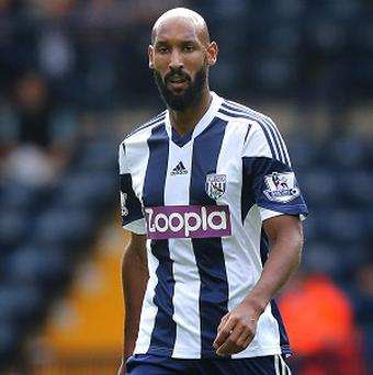 Nicolas Anelka will not feature for West Brom for the foreseeable future