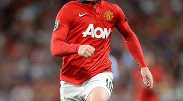 Wayne Rooney returned to United's starting line-up on Monday