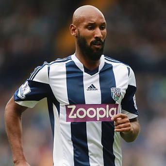 Nicolas Anelka could figure for West Brom in Sunday's game against Swansea
