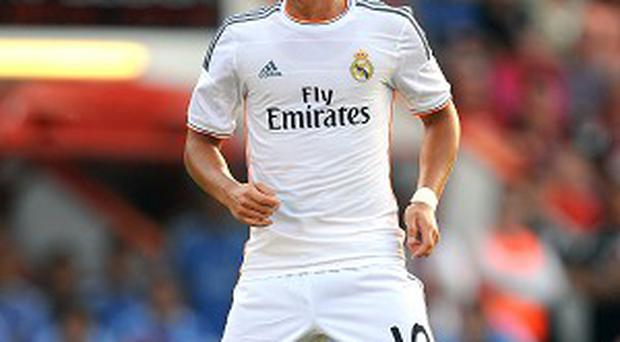 Mesut Ozil was a firm favourite with team-mates and fans at Real Madrid