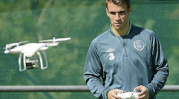 Seamus Coleman is desperate to make up for missing out on Euro 2012