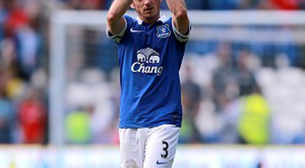 Roberto Martinez considers Leighton Baines, pictured, to be Everton's most important player