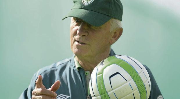 Manager Giovanni Trapattoni hopes to stay involved in the game even if he loses his job with Ireland
