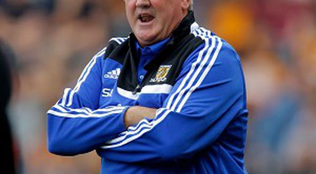 Steve Bruce, pictured, could revive his interest in Shane Long in January