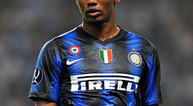 Samuel Eto'o looks set to pull on a Chelsea shirt for the first time this weekend