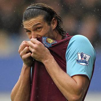 Andy Carroll is set for another spell on the sidelines