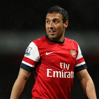 Santi Cazorla faces a spell on the sidelines