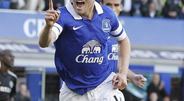 Steven Naismith scored the only goal of the game against Chelsea