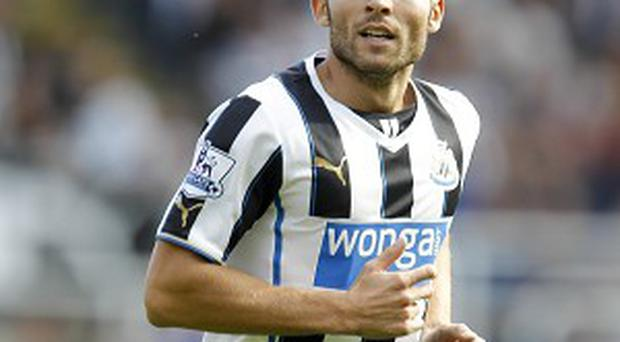 Yohan Cabaye failed to secure a move to Arsenal in the last transfer window