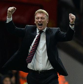 David Moyes was relieved as Manchester United got back to winning ways against Liverpool