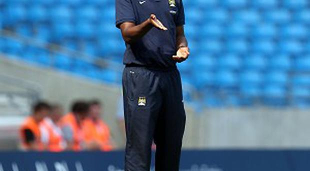 Patrick Vieira took charge of Manchester City's elite development squad earlier this year