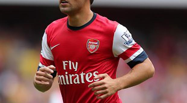 Santi Cazorla is recovering from an ankle injury