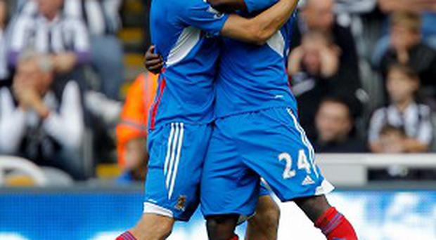 Sone Aluko, right, is in the final year of his contract