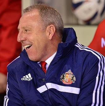Kevin Ball's first game in temporary charge of Sunderland was a 2-0 cup win over Peterborough