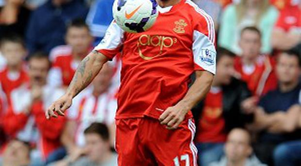 Dani Osvaldo opened his account for Southampton in their win over Crystal Palace