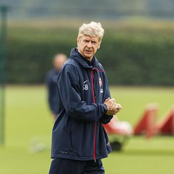 Arsene Wenger's Arsenal take on Napoli in the Champions League on Tuesday