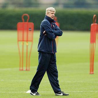 Arsene Wenger's Arsenal are looking to record a second win in Group F