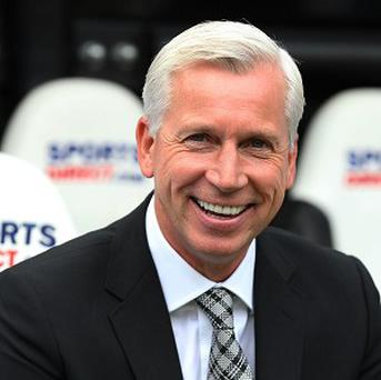 Alan Pardew's Newcastle take on Cardiff on Saturday