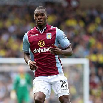 Christian Benteke sustained a hip injury in Villa's recent win over Norwich