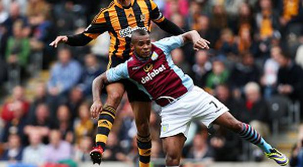 Curtis Davies produced an impressive display against Aston Villa
