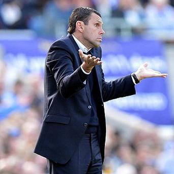 Gus Poyet, pictured, is set to succeed Paolo Di Canio at Sunderland
