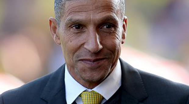 Chris Hughton's Norwich have lost four of their first seven league matches