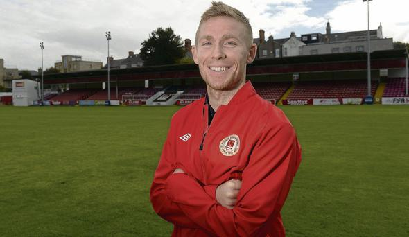 St Patrick's Athletic's Conor Kenna pictured at Richmond Park ahead of their crucial Airtricity League Premier Division clash against Sligo Rovers tomorrow MATT BROWNE / SPORTSFILE