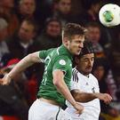 Kevin Doyle thrilled to be back in the Ireland team. Photo: Alex Grimm