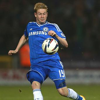 Kevin de Bruyne has failed to nail down a place in the Chelsea team since arriving last year