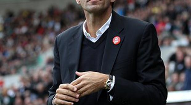 Gus Poyet's first game in charge of Sunderland ended in defeat