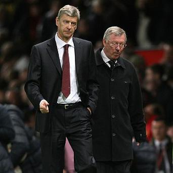 Arsene Wenger, left, is also looking forward to seeing what Sir Alex Ferguson, right, reveals in his book