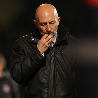 There had been speculation over Ian Holloway since the defeat to Fulham