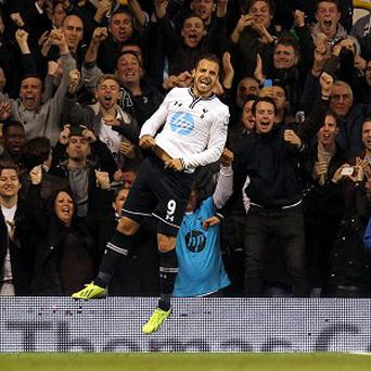 Roberto Soldado scored the only goal of the game