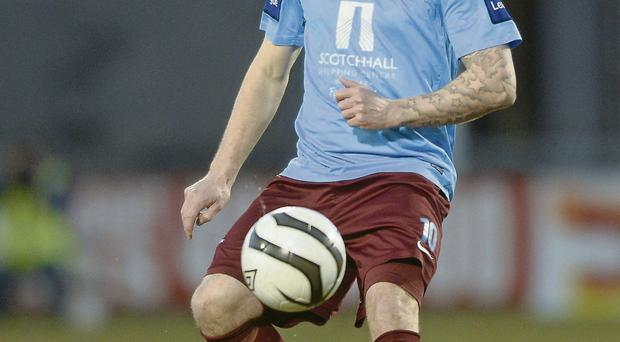 Gary O'Neill had his season with Drogheda United abruptly cut short after he was diagnosed with testicular cancer