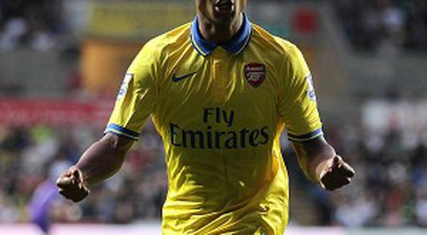 Serge Gnabry has impressed since breaking into the Gunners first team