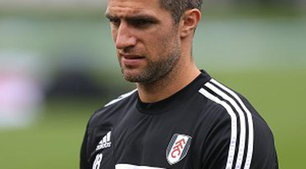 Aaron Hughes played as a substitute in Fulham's 2-0 loss to Southampton at the weekend