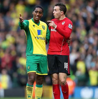 Leroy Fer, left, put the ball in the net when Cardiff expected him to give it back to them
