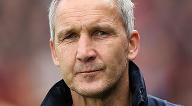 Keith Millen took temporary charge of Crystal Palace against Arsenal last weekend