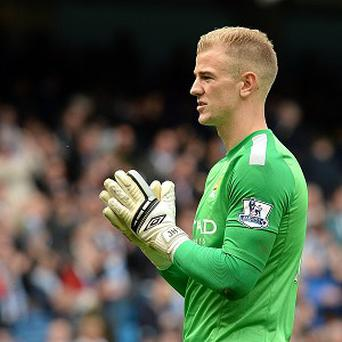 Joe Hart, pictured, was deemed to be at fault for Fernando Torres' winning goal for Chelsea last weekend