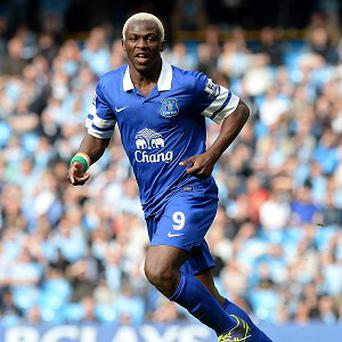 Arouna Kone sustained a knee problem in the 2-1 win over Hull on October 19