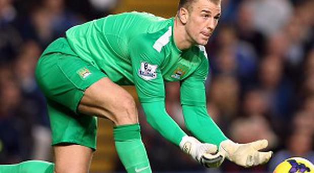 Joe Hart did not feature in the Capital One Cup fourth-round tie at Newcastle in midweek