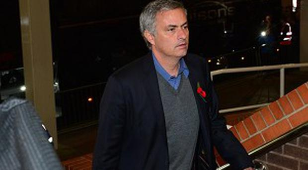 Jose Mourinho admitted he was concerned at Chelsea's lack of a cutting edge