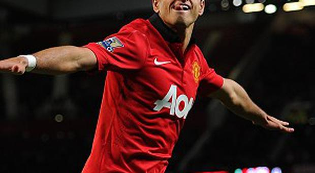 Striker: Javier Hernandez (Manchester United) 73.3pc shooting accuracy - The 'Little Pea' is likely to be one of the casualties of United's summer clear-out, but his eye for accuracy - no striker with 10 shots or more this season has hit the target more regularly - should make him coveted.