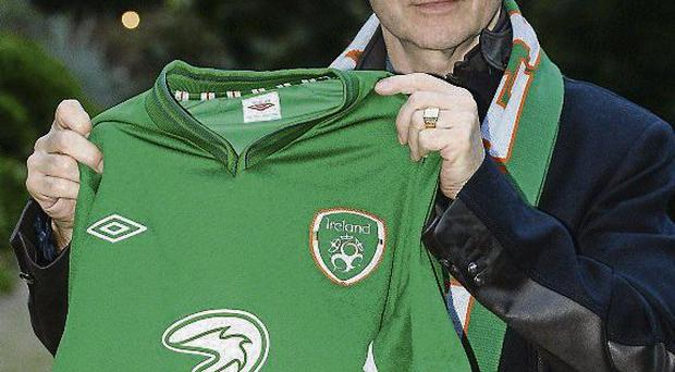 Newly appointed Republic of Ireland manager Martin O'Neill