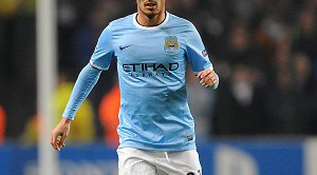 David Silva has been sidelined by a calf problem