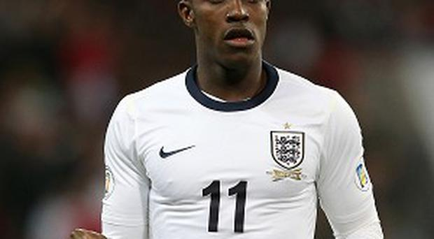 Danny Welbeck is hampered by a knee injury