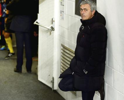 Jose Mourinho is reported to have been involved in a tunnel row after Chelsea's draw with West Brom
