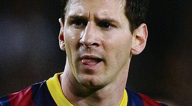 Messi missed the game due to injury
